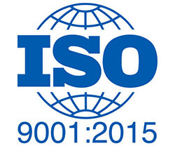 ISO certified 9001-2015